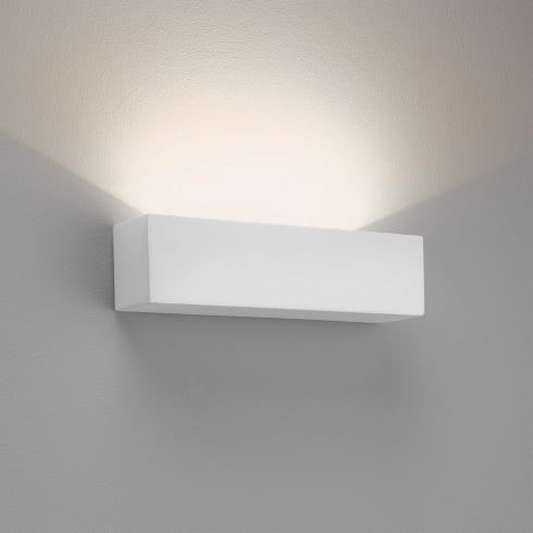 Astro Parma 250 LED Surface Wall Light White Plaster