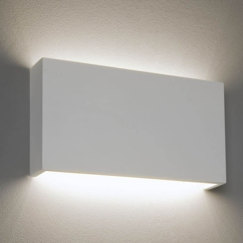 Astro Rio 325 LED Surface Wall Light White Plaster