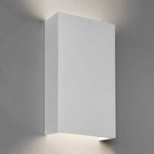 Astro Rio 190 LED Surface Wall Light White Plaster