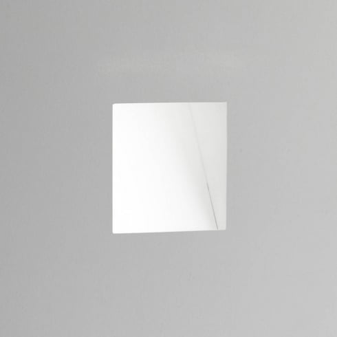 Astro Borgo 98 Trimless Plastered In 2700K LED Recessed Wall Light