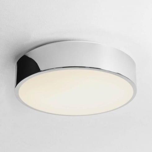 Astro Mallon LED Flush Ceiling Light Polished Chrome