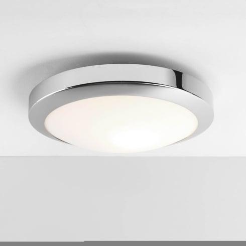 Astro Dakota 300 LED Flush Ceiling Light Polished Chrome