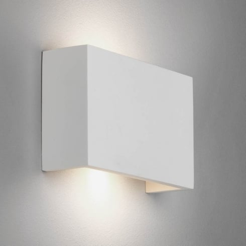 Astro Rio 210 Plaster Surface Up and Down Wall Light Paintable
