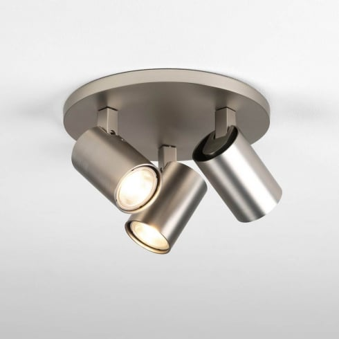 Astro Lighting Ascoli Triple Round 7950 Spotlights