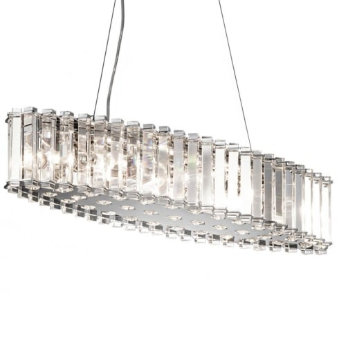 Elstead Lighting Crystal Skye Island KL/CRSTSKYE/ISLE Chandelier