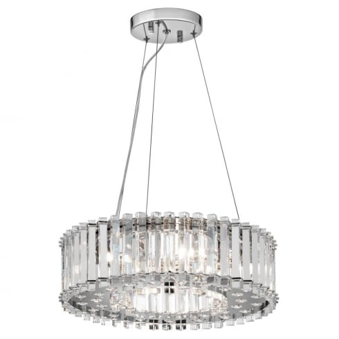 Elstead Lighting Crystal Skye Island KL/CRSTSKYE/P/A Chandelier