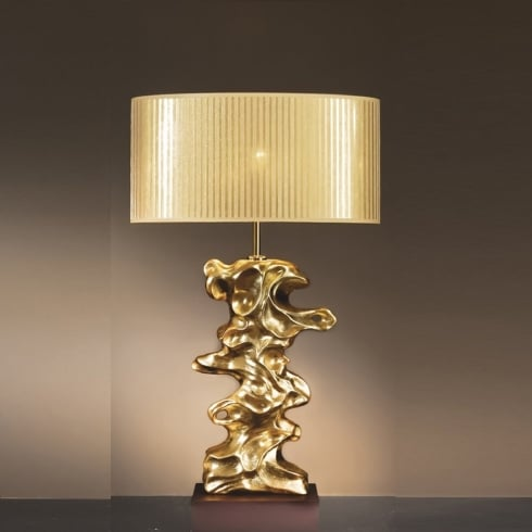 Elstead Lighting Libero Gold Table Lamp