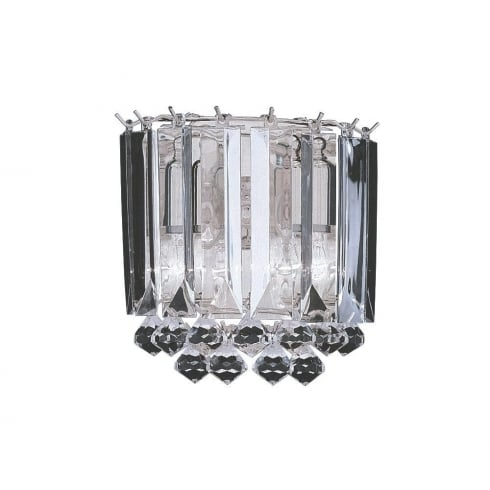 Searchlight Electric Sigma 6711-2CC Chrome Acrylic Wall Light