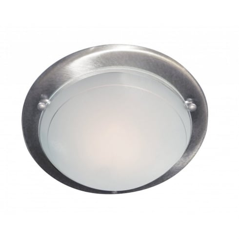 Searchlight 702SS Flush Ceiling Light