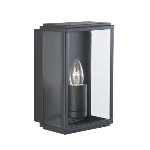 Searchlight Electric 8204BK Black Outdoor Surface Wall Light