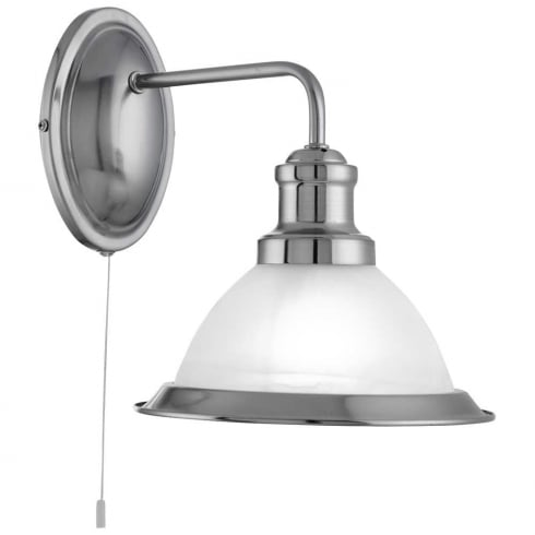 Searchlight Electric Bistro 1481SS Surface Wall Light