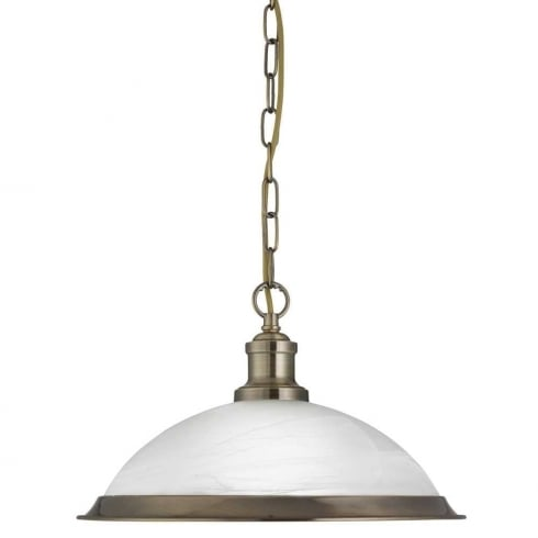 Searchlight Electric Bistro 1591AB Pendant Ceiling Light