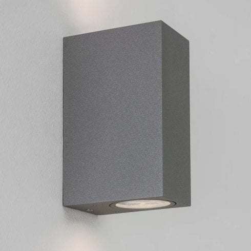 Astro Chios 150 Outdoor Surface Up and Down Wall Light Grey