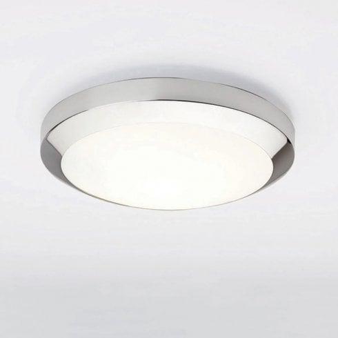 Astro Lighting Dakota 300 Flush Ceiling Light Polished Chrome