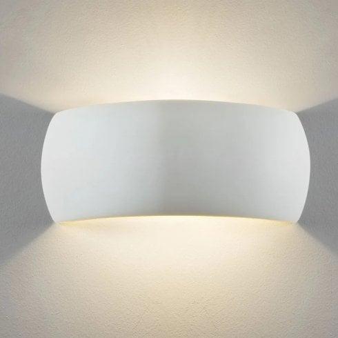 Astro Milo 300 Surface Wall Light Plaster