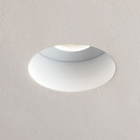 Astro Trimless Ceiling Downlight White
