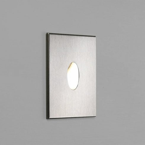 Astro Tango LED Brushed Stainless Steel Stair/Step Wall Light