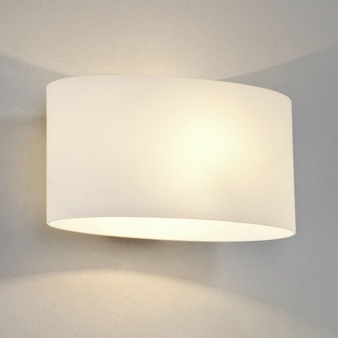 Astro Tokyo Surface Wall Light Opal Glass Diffuser