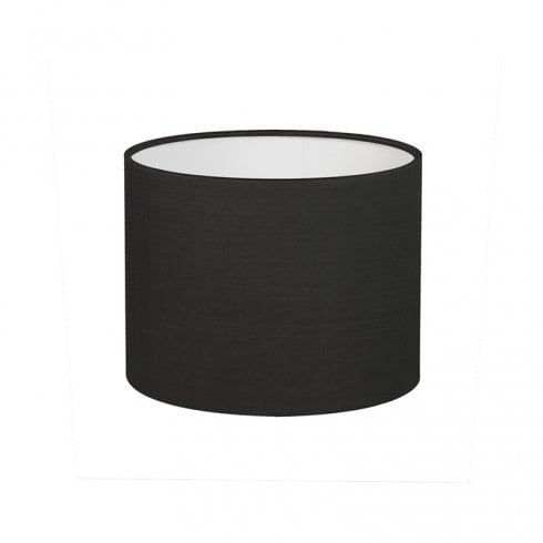 Astro Drum 150 Black Fabric Drum Lamp Shade