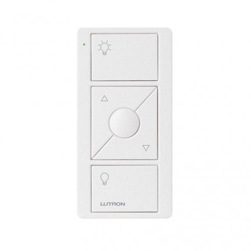 Lutron Pico Zone Remote 3 Button Keypad Raise/Lower White