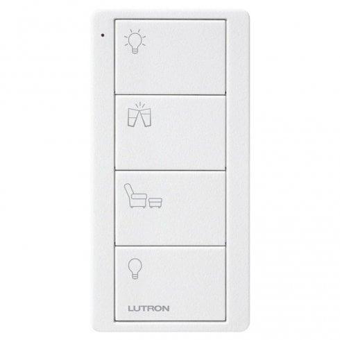 Lutron Pico Scene 4 Button Any Room Keypad White