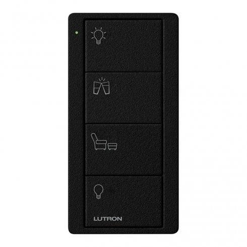 Lutron Pico Scene 4 Button Any Room Keypad Black