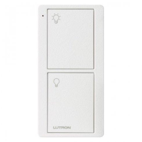 Lutron Pico Button Keypad On/Off White