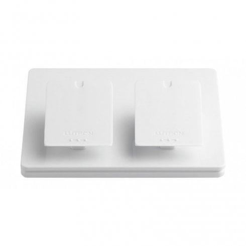 Lutron Pico Pedestal Double Mount Bedside or Desk Freestanding White