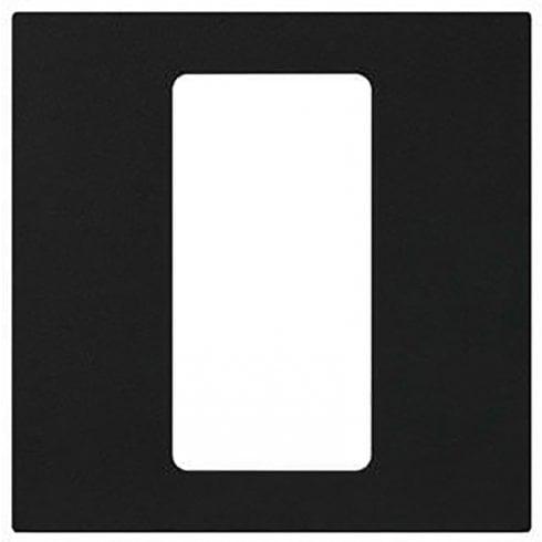 Lutron Pico Wall Faceplate 1 Gang Wireless Single Opening Black