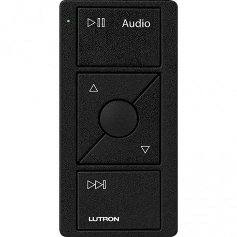 Lutron Pico Audio Remote 3 Button Keypad Black