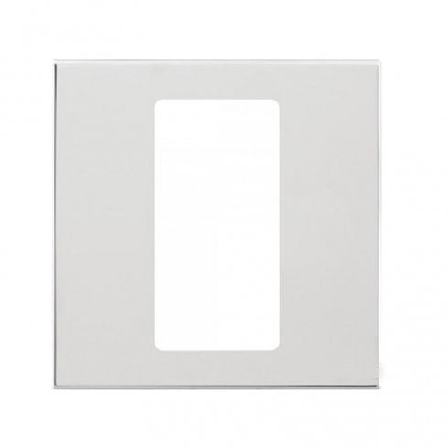 Lutron Pico Wall Faceplate 1 Gang Wireless Single Opening Brushed Chrome