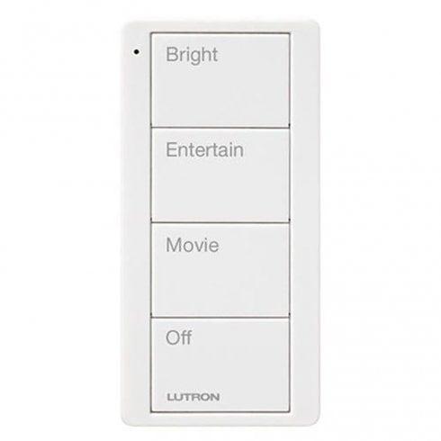 Lutron Pico 4 Button Scene Keypad White
