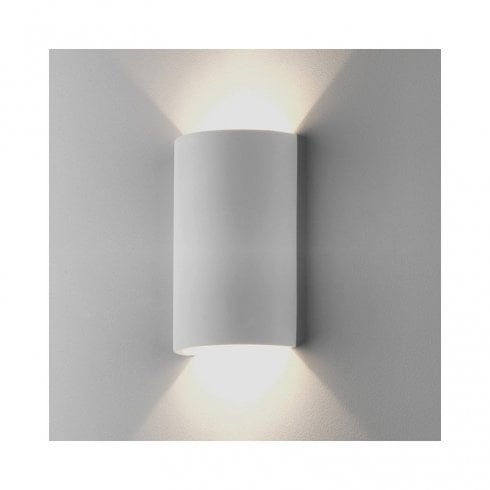 Astro Serifos 220 Up/down Surface Wall Light Plaster