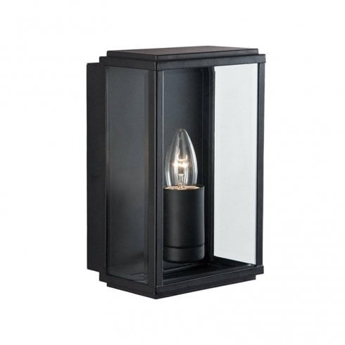 Searchlight Outdoor Surface Wall Light 8204BK Black