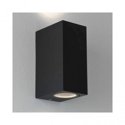 Astro Chios 150 Outdoor Surface Up And Down Wall Light Black
