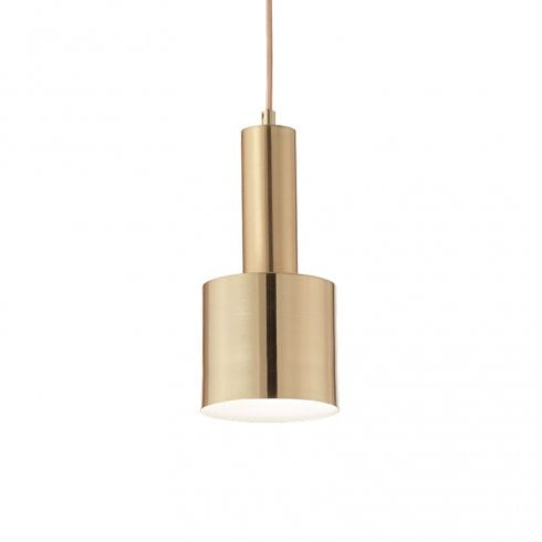 Ideal Lux Holly SP1 Pendant Satin Brass
