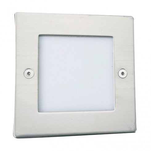 Searchlight Recessed Outdoor Wall/Ground Light 9907WH Stainless Steel
