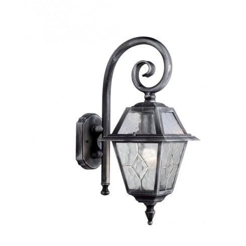 Searchlight Genoa 1515 Outdoor Surface Wall Light Black