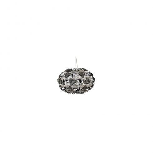 Searchlight Triangle 5803-3SM Pendant Ceiling Light Polished Chrome