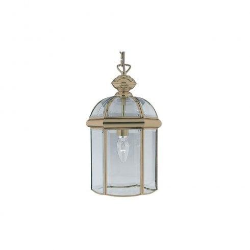 Searchlight Lantern 7131AB Pendant Light Antique Brass
