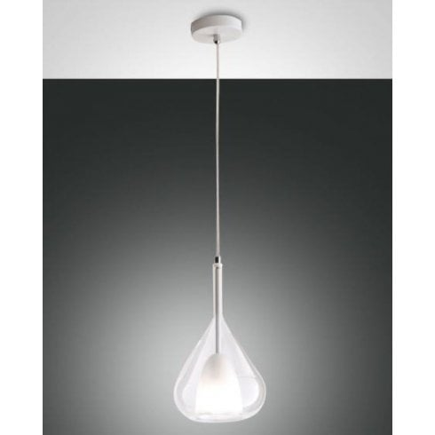 Fabas Luce Lila Pendant Ceiling Single Light Glass