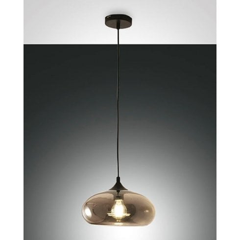 Fabas Luce Ela Pendant Ceiling Light Grey