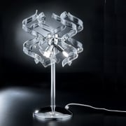 Metal Lux (Astro) Metal Lux Astro 206.123.01 A246P Crystal Table Lamp