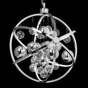 Endon Muni MUNI-CH Chrome Pendant Ceiling Light