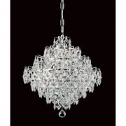 DIAMOND CE01081/12/CH Polished Chrome Pendant