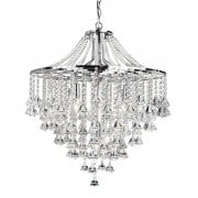 Searchlight Dorchester 3497-7CC Crystal Chandelier Light