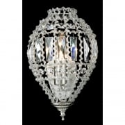 BOMBAY CO01219/WB/C Crystal Beaded Wall Light
