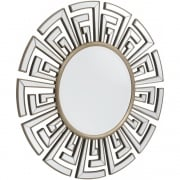 Claridge 235256 Round Patterned Classic Art Deco Mirror