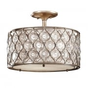 Elstead Lucia FE/LUCIA/SF Semi-Flush Light
