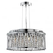 Searchlight Electric Elise 8334-4CC Pendant Ceiling Light